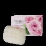 Розов сапун с натурален цвят от рози